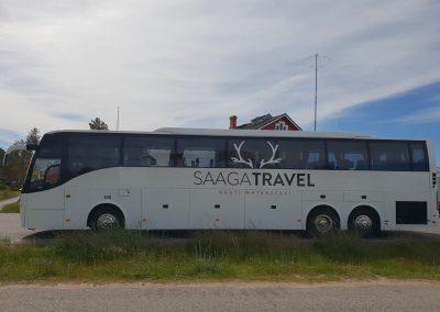 Tilausajo bussi Oulussa Saaga Travel